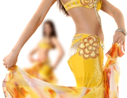 image of belly dancer