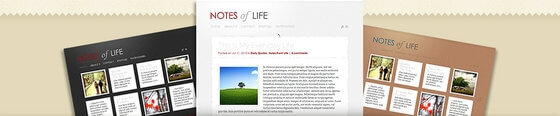 Tumblr Stil WordPress Tema DailyNotes