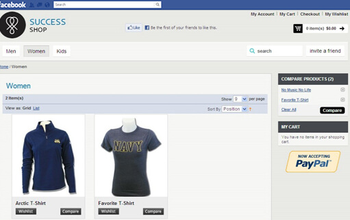 Magento Facebook Uygulama